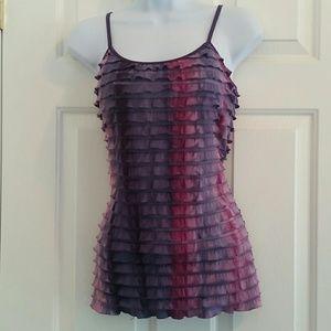 Energie women's tie dye tank top.